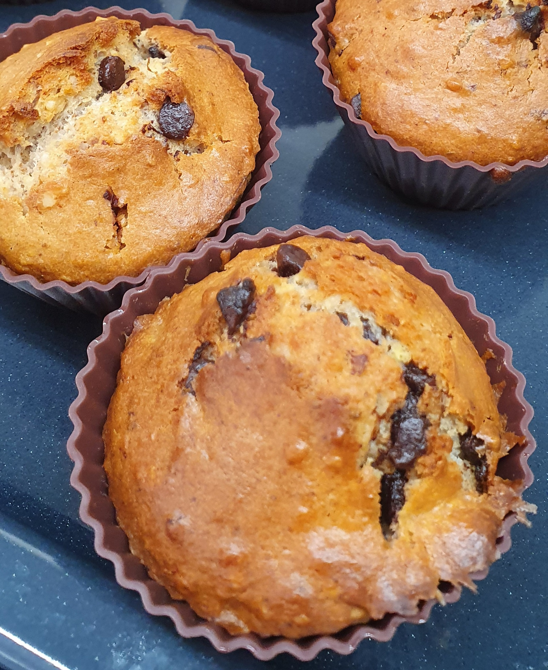 Muffins noix chocolat